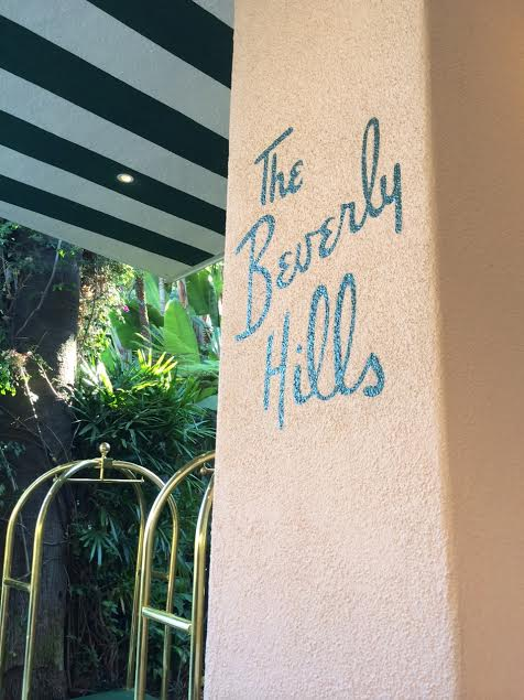 The Beverly Hills Hotel; Sarah In Style