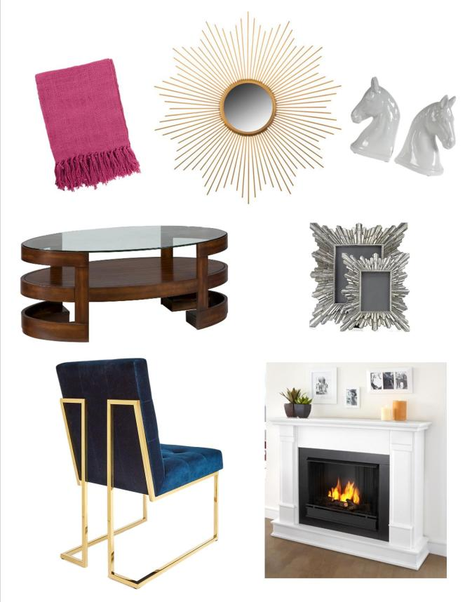 sarah in style, chicago blogger, jonathan adler, z gallerie, wayfair, etsy, target