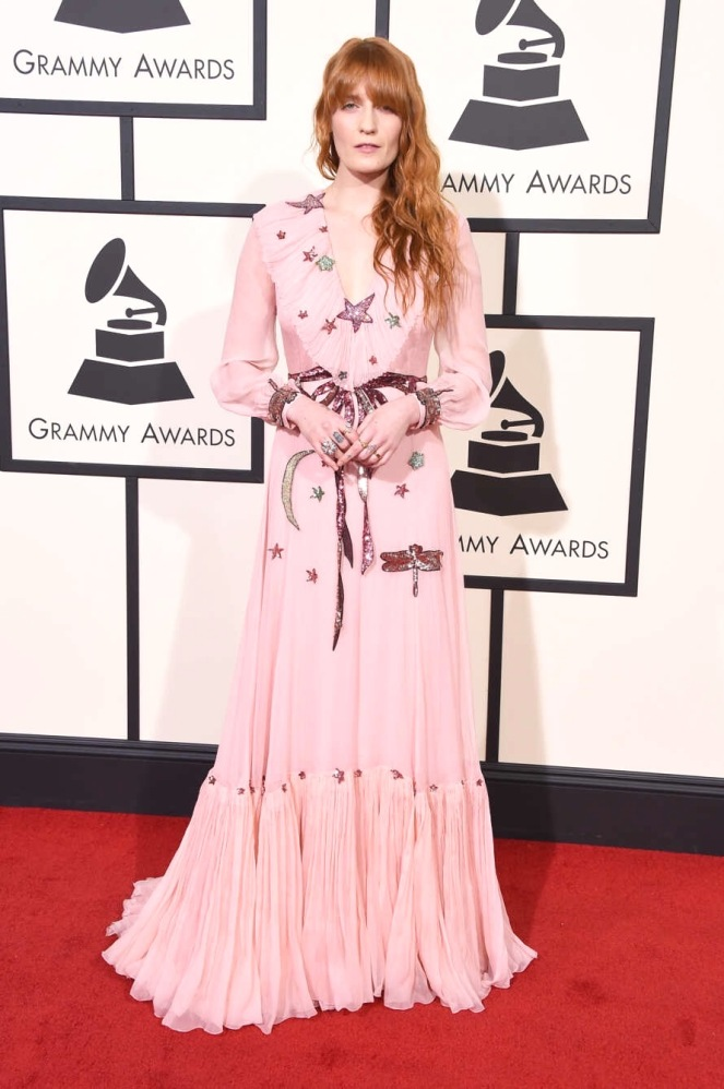 Gucci, Florence Welch, Chicago Blogger, Grammy Awards, Sarah In Style, Grammys