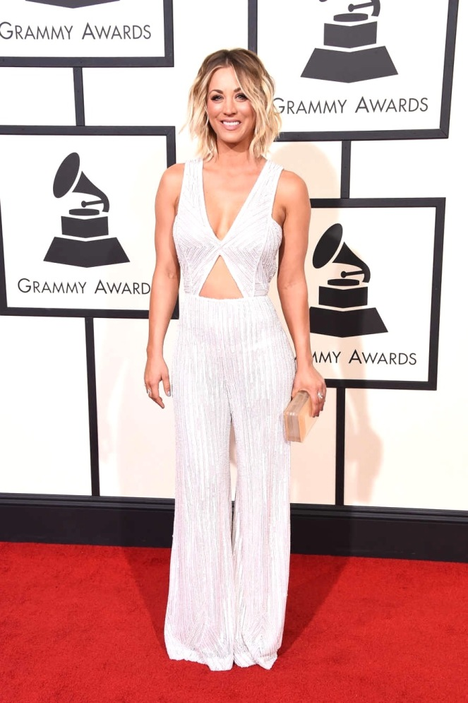 Kaley Cuoco, Naeem Khan, Grammys, Sarah In Style, Fashion Blogger