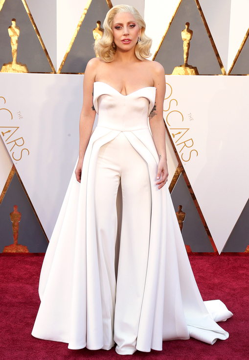 lady gaga, oscars, brandon maxwell, sarah in style, top 5