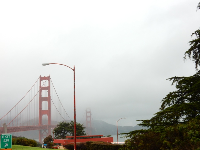 Golden Gate Bridge, San Francisco, Superbowl, Big Bus