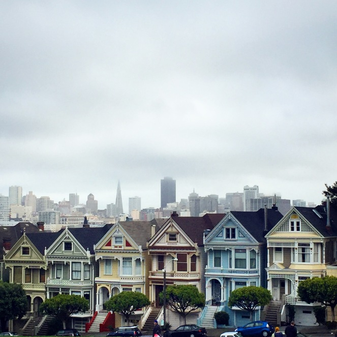 painted ladies, victorian homes, san francisco, sarah in style