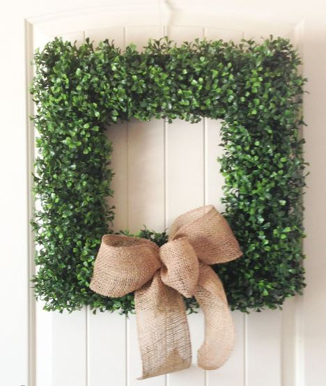 wreaths, wreath, greens, sarah in style, sarahinstyle.com