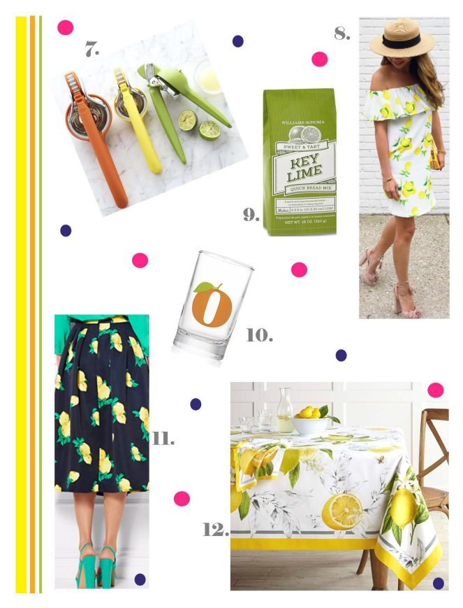 citrus, lemon, lime, orange, when life gives you lemons, sarah in style, lifestyle blogger