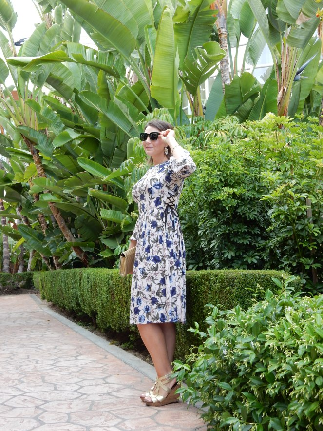 It's a purple party, purple dress, topshop, the beverly hills hotel, sarah in style, fashion blogger, windy city bloggers