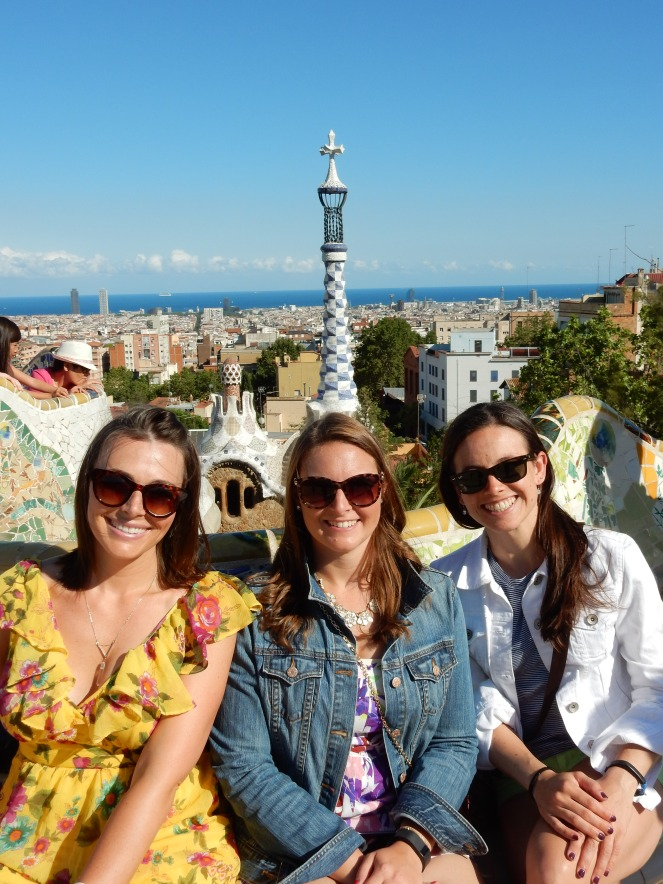 barcelona, spain, park guell, sagrada familia, el born, el nacional, sarah in style, travel blogger, european adventure, windy city bloggers