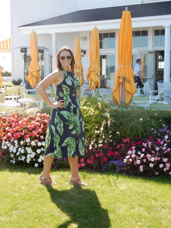 Ann Taylor Amalfi Halter Dress, Ann Taylor, Go To Summer Dress, sarahinstyle.com, sarah in style, fashion blogger, chicago blogger, windy city bloggers, summer to fall wardrobe