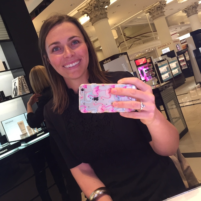 Sarah In Style, sarahinstyle.com, Macy's Beauty Scene, Macy's, Macys, Macy's State Street, Beauty Scene, Makeover, Chanel, chanel makeup