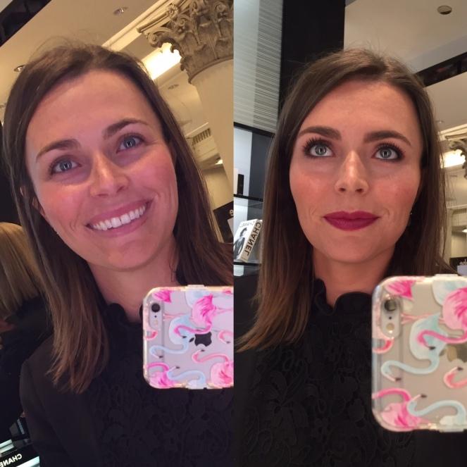 Macy's Beauty Scene, Macy's, Macys, Macy's State Street, Beauty Scene, Makeover, Chanel, chanel makeup
