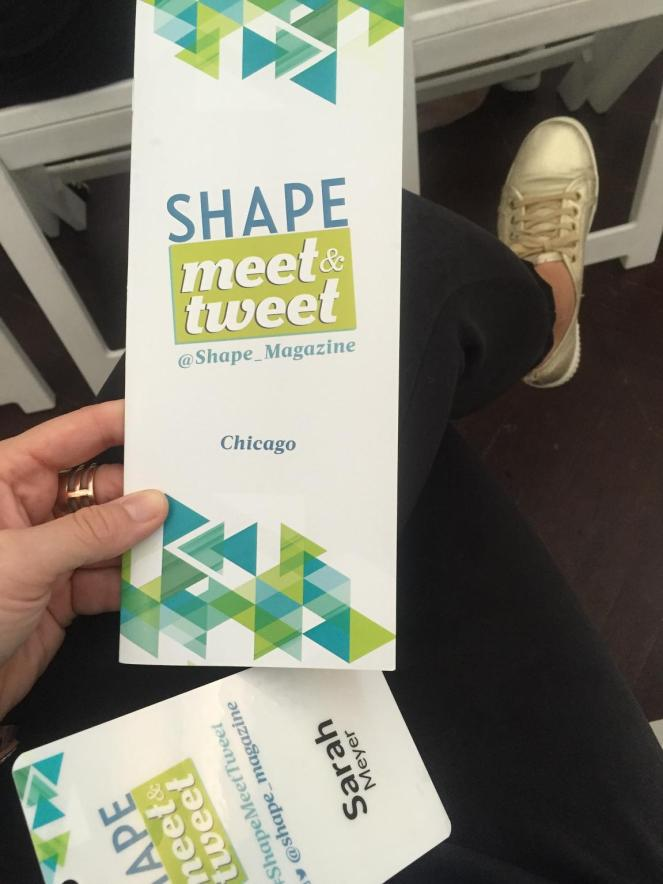 Shape Meet & Tweet, Chicago Bloggers, Body Positivity, Love my Shape, Be the boss of your body, sarah in style, sarahinstyle.com, sarah meyer, jennifer widerstrom, shape magazine, shape, dawn jackson blatner, showbiz shelly, elizabeth goodman artis