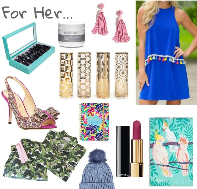 holiday gift guide, for her, woman's christmas list, christmas wish list, what does she want for christmas, what to ger her for christmas, sarah in style, sarahinstyle.com, chicago blogger, windy city bloggers, gift guide,
