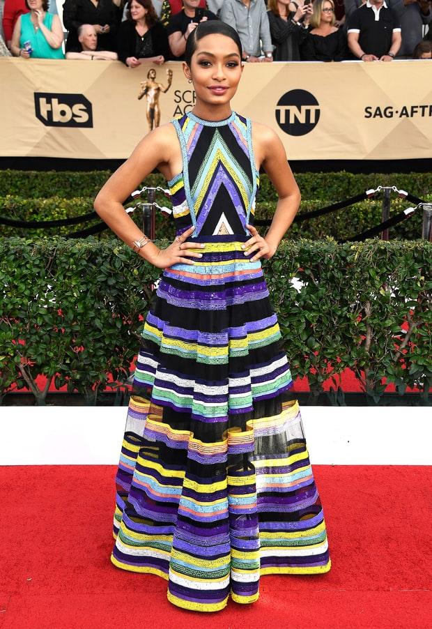 SAG Awards, Screen Actors Guild, best dressed, red carpet, celebrity fashion, ellie kemper, nicole kidman, gucci, maisie williams, felicity huffman, yara shahidi, giuliana rancic, sarah in style, sarahinstyle.com, sarah meyer, fashion blogger