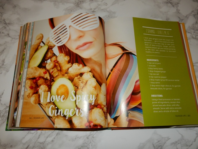 Squeeze Life, The Squeeze, Karlin Brooks, Juicing, Raw foods, raw eating, gluten free, healthy eating, smoothies, healthy recipes, healthy cookbook, sarah in style, sarahinstyle.com, Sarah Meyer, Banana Bread Smoothie