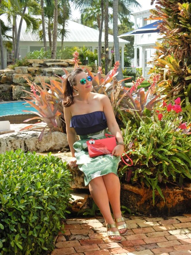 sunset key, key west, islamorada, florida keys, florida, sunshine state, tropical vacation, hemingway house, margaritaville, The Marker, Bagatelle, Latitudes, florida sunset, southermostpoint, sarah in style, sarah Meyer, sarahinstyle.com, travel blogger, palm leaf, palm leaf skirt, tropical attire