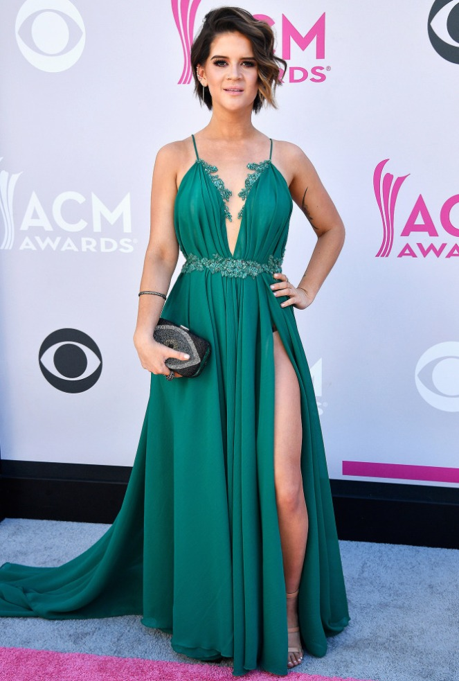 ACM's, ACM, academy of country music, academy of country music awards, country music awards, country music, red carpet, red carpet style, celebrity style, Sarah In STyle, Sarahinstyle.com, Las Vegas Awards Show, Pink Carpet, Maren Morris