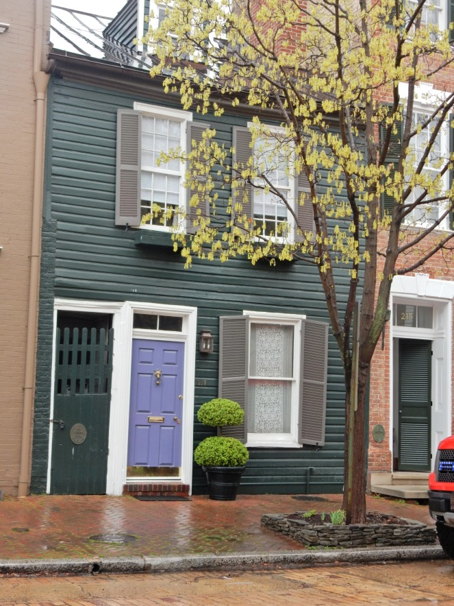 outdoor decor, pink home, Alexandria Virginia, Alexandria VA, Alexandria, Bold Front Doors, Come and Knock on my door, Colorful homes, new England, Washington D.C., gluten free D.C., gluten free Alexandria, sarahinstyle.com, Sarah In Style, What to do in D.C., What to do in Alexandria, curb appeal