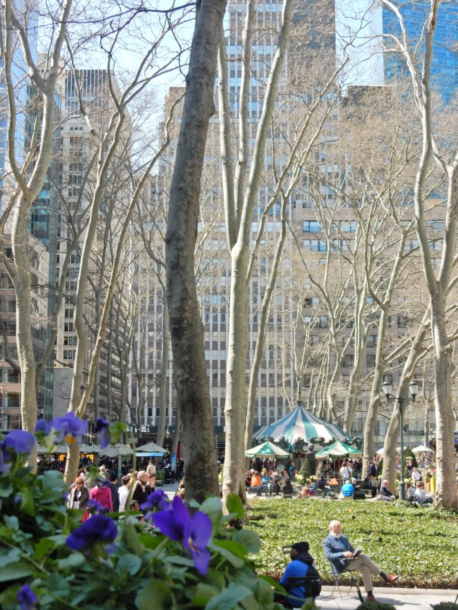 Bryant Park, Big Apple, NYC, wcbcstyle, floral dress, spring trends, Maison Jules, Kenneth Cole, Kate Spade, Heavenly Couture, Essie, Spring Fashion, Summer Fashion, spring blooms, gorgeous flowers