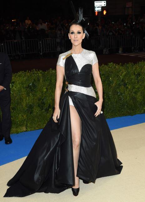 Met Gala, Celine Dion in Versace