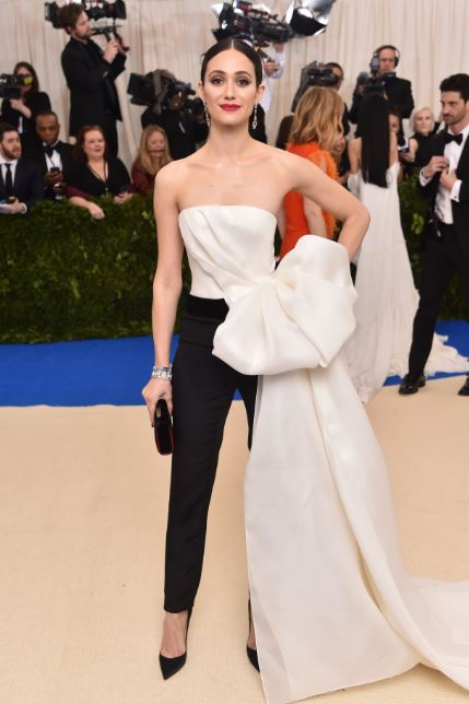 Met Gala, Rei Kawakubo, Commes des Garcons, The Met, red carpet fashion, celebrity fashion, Met Gala, fashion's biggest night, Chanel, Emmy Rossum in Carolina Herrera