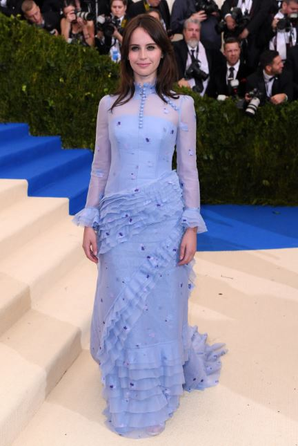 Felicity Jones, Claire Danes, Amy Fine Collins, Met Gala, Rei Kawakubo, Commes des Garcons, The Met, red carpet fashion, celebrity fashion, Met Gala, fashion's biggest night, Chanel