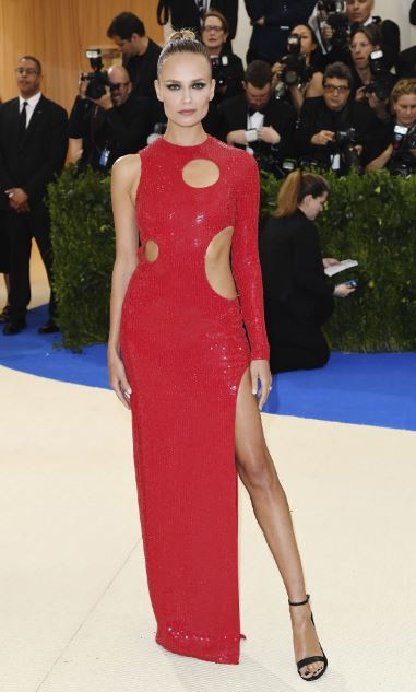 Met Gala, Natasha Poly in Michael Kors Collection