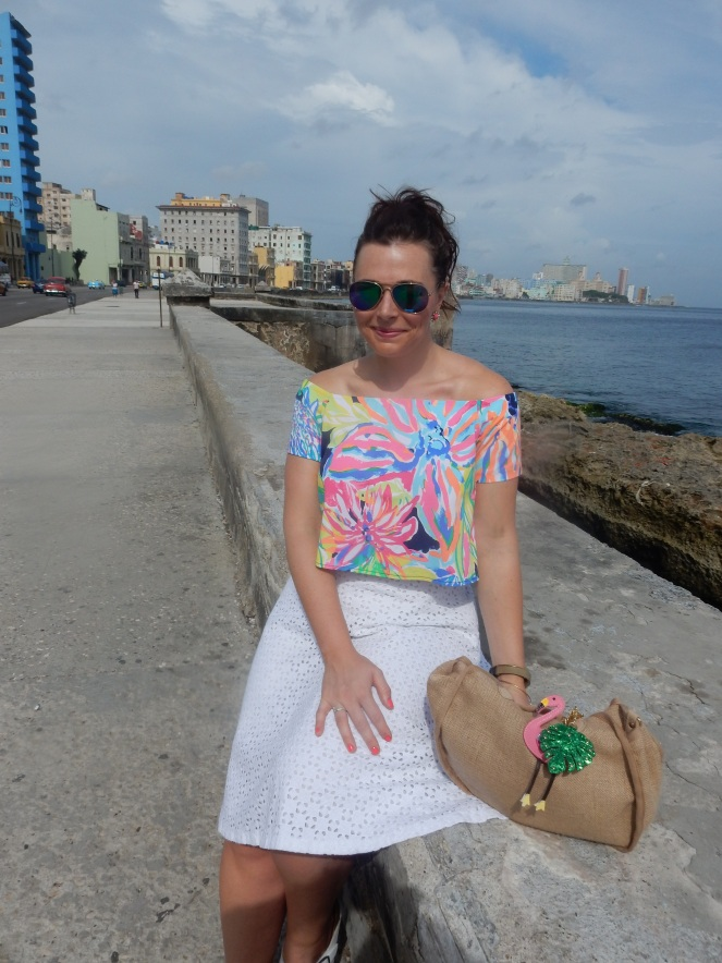 Cuba, Havana, Cuban Style, Cuban Flair, how to dress in cuba, sarah in style, sarah meyer, sarahinstyle.com, windy city bloggers, fashion blogger, style blogger, travel recommendations, travel ideas, cuba travel, travel blogger, travel blog, how to dress in cuba, lilly pulitzer, LOFT, Birkenstock, Charming Charlie, H&M, stylefile, white hot summer, summer whites