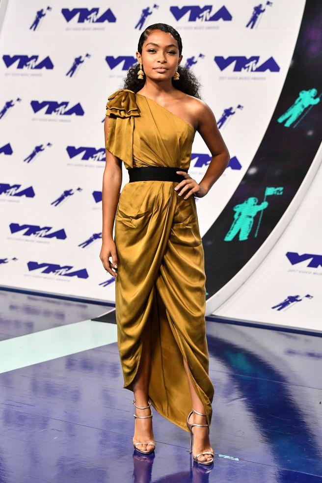 MTV, VMA's, Video Music Awards, VMA's 2017, Red Carpet, Celebrity Style, Celebrity Fashion, Best Dressed, Awards Show, Sarah In Style, Sarah Meyer, sarahinstyle.com, Mena Suvari, Heidi Klum, Jared Leto, Olivia Munn, Katy Perry, Yara Shahidi, Erin Lim