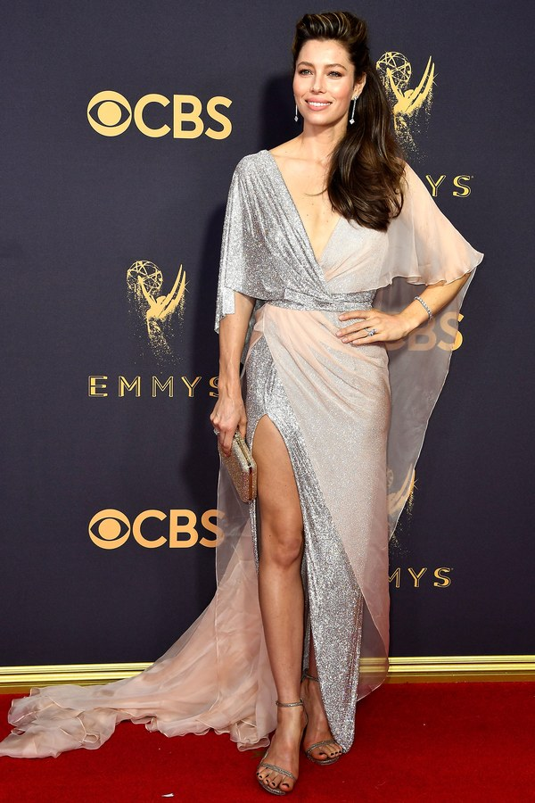 Emmy Awards, Emmys, Emmys Red Carpet, Emmys 2017, Celebrity Style, Celeb Best Dressed, Emmys Red Crapet 2017, Sarah In Style, Awards Season, Celeb Fashion, Sarah Meyer, Jessica Biel, Ralph and Russo