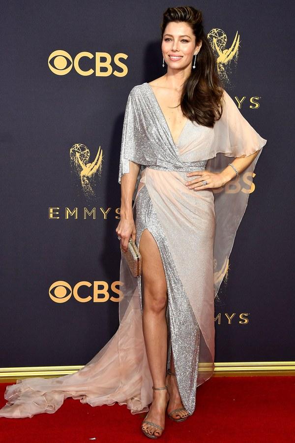 Emmy Awards, Emmys, Emmys Red Carpet, Emmys 2017, Celebrity Style, Celeb Best Dressed, Emmys Red Crapet 2017, Sarah In Style, Awards Season, Celeb Fashion, Sarah Meyer, Jessica Biel, Ralph and Russo