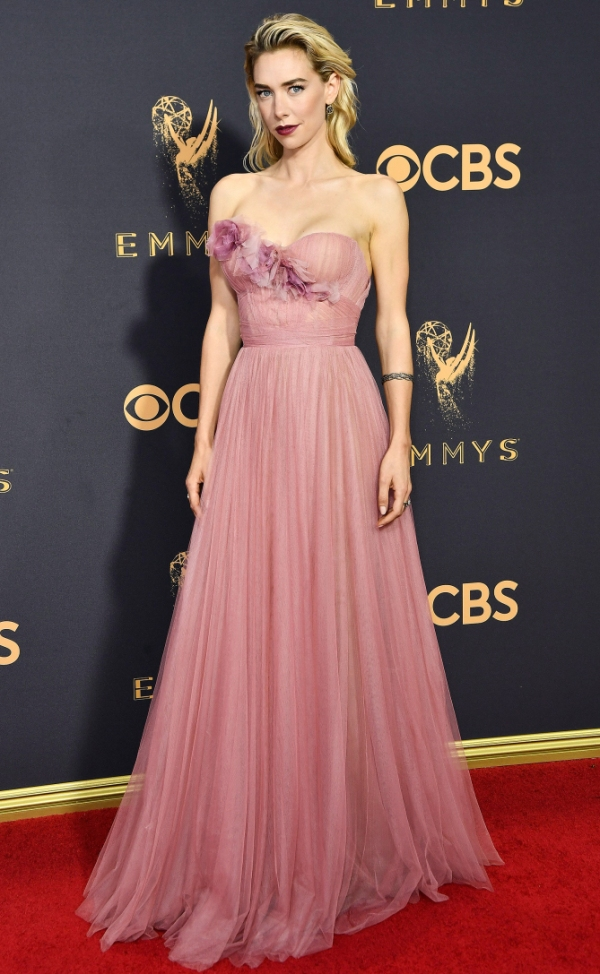 Emmy Awards, Emmys, Emmys Red Carpet, Emmys 2017, Celebrity Style, Celeb Best Dressed, Emmys Red Crapet 2017, Sarah In Style, Awards Season, Celeb Fashion, Sarah Meyer, Vanessa Kirby