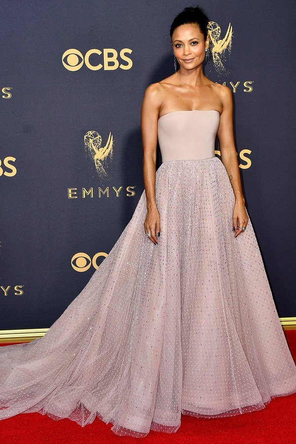 Thandie Newton, Jason Wu, Emmy Awards, Emmys, Emmys Red Carpet, Emmys 2017, Celebrity Style, Celeb Best Dressed, Emmys Red Crapet 2017, Sarah In Style, Awards Season, Celeb Fashion, Sarah Meyer