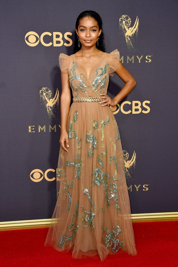 Emmy Awards, Emmys, Emmys Red Carpet, Emmys 2017, Celebrity Style, Celeb Best Dressed, Emmys Red Crapet 2017, Sarah In Style, Awards Season, Celeb Fashion, Sarah Meyer, Yara Shahidi, Prada