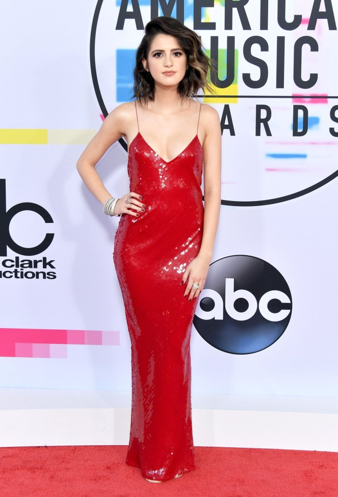 American Music Awards, AMas, Music Awards, Red Carpet, Celebrity fashion, best dressed, pink, tracee ellis ross, kathryn hahn, ashlee simpson ross, hailee steinfeld, selena gomez, mugler, Monique Lhullier, Christian Siriano
