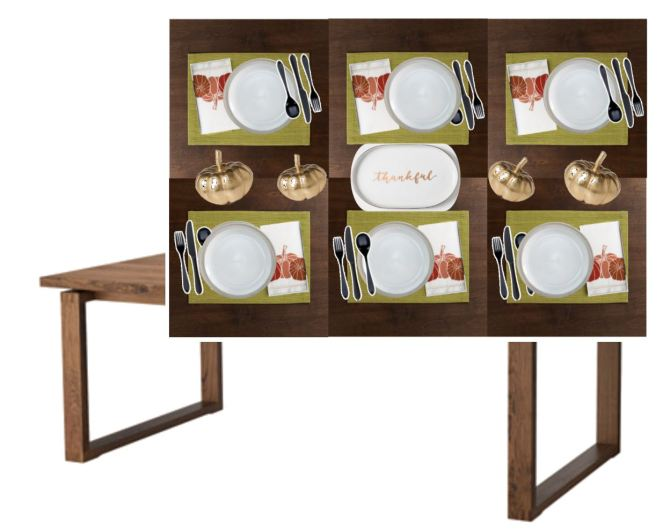 Ikea, CB2, Bed Bath & Beyond, Crate & Barrel, Target, Sarah In Style, Dining Decor, Table inspiration, tablescape, thanksgiving decor, thanksgiving decorations, design blog, design blogger, home decor, entertaining,