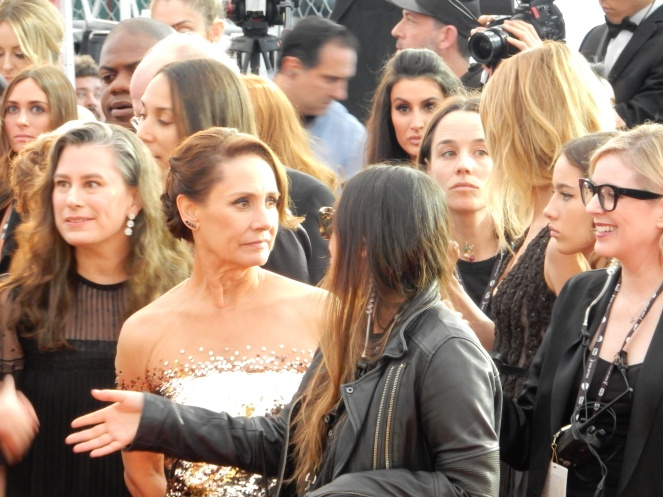 Laurie Metcalf, Reese Witherspoon, fashion blogger, style blogger, sarah in style, Sarah Meyer, SAG Awards, Screen Actors Guild, SAG Red Carpet, SAG Afterparty, SAG red carpet experience, SAG bleachers, Awards season, celebrity fashion, best dressed, E red carpet, People style, best of the SAG Awards