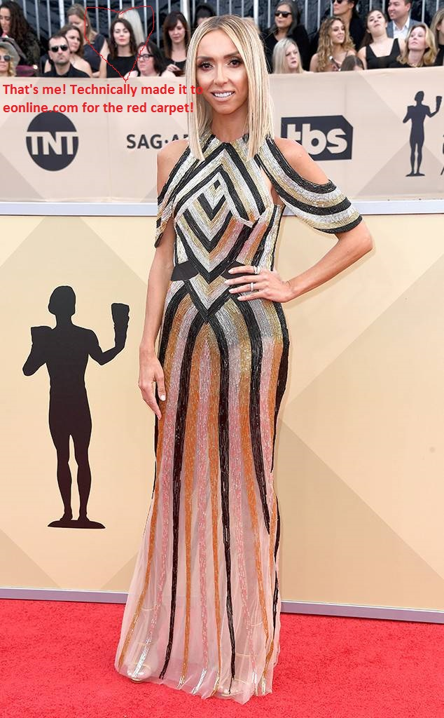 fashion blogger, style blogger, sarah in style, Sarah Meyer, SAG Awards, Screen Actors Guild, SAG Red Carpet, SAG Afterparty, SAG red carpet experience, SAG bleachers, Awards season, celebrity fashion, best dressed, E red carpet, People style, best of the SAG Awards