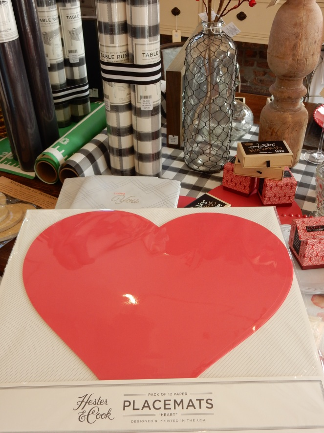 Dining Decor, Table of Love, Valentine's Day Decorating, Valentine's Decor, Sarah In Style, Sarah Meyer, interior decorating, tablescape, decorating ideas, table ideas, February table, decorating blog, decorating blogger, Rusted Arrow Mercantile, Pensacola Shops, Hester & Cook