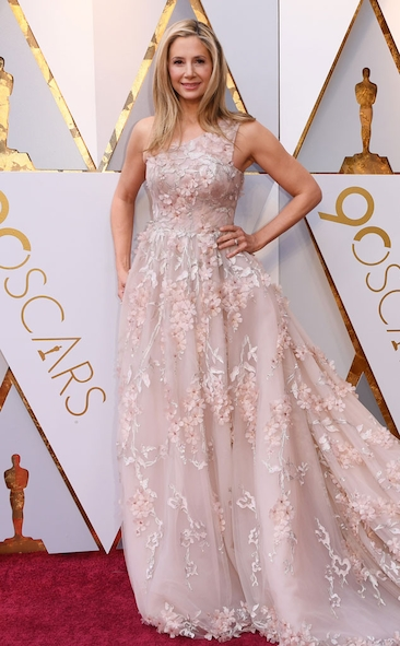 Mira Sorvino, Romona Keveza, Allison Williams, Armani Prive, Academy Awards, Oscars, Oscars Best Dressed, Best Dressed, 2018 Red Carpet, Red Carpet Fashion, Celebrity Style, Celebrity Fashion. Zuhair Murad, Gina Rodriguez, Top Looks of the night