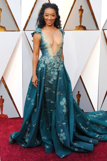 Betty Gabriel, Academy Awards, Oscars, Oscars Best Dressed, Best Dressed, 2018 Red Carpet, Red Carpet Fashion, Celebrity Style, Celebrity Fashion. Top Looks of the night