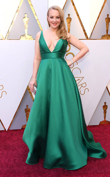 Wendi Mclendon Covey, Academy Awards, Oscars, Oscars Best Dressed, Best Dressed, 2018 Red Carpet, Red Carpet Fashion, Celebrity Style, Celebrity Fashion. Top Looks of the night