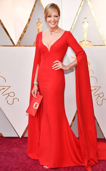 Allison Janney, Academy Awards, Oscars, Oscars Best Dressed, Best Dressed, 2018 Red Carpet, Red Carpet Fashion, Celebrity Style, Celebrity Fashion. Top Looks of the night