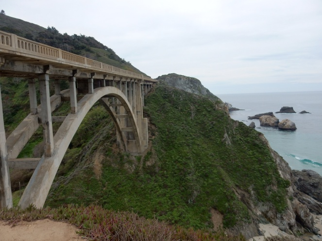 Bixby Bridge, Julia Pfeiffer State Park, gorgeous california coastline, california coast, California's Hidden Gems, Hofsas House, What to do in Carmel, Where to stay in Carmel, Monterey County sightseeing, Big Sur things to do, drive to big sure, california redwood trees, California vacation planning, Drive along PCH1, pacific coast highway vacations, SArah in Style, northern california tips, Sarah Meyer, blogger guide to california, downtown carmel, pacific coast highway, california road trip planning, california road trip, driving pch, driving highway 1