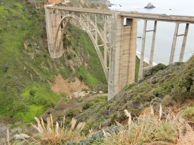 Bixby Bridge, gorgeous california coastline, california coast, California's Hidden Gems, Hofsas House, What to do in Carmel, Where to stay in Carmel, Monterey County sightseeing, Big Sur things to do, drive to big sure, california redwood trees, California vacation planning, Drive along PCH1, pacific coast highway vacations, SArah in Style, northern california tips, Sarah Meyer, blogger guide to california, downtown carmel, pacific coast highway, california road trip planning, california road trip, driving pch, driving highway 1