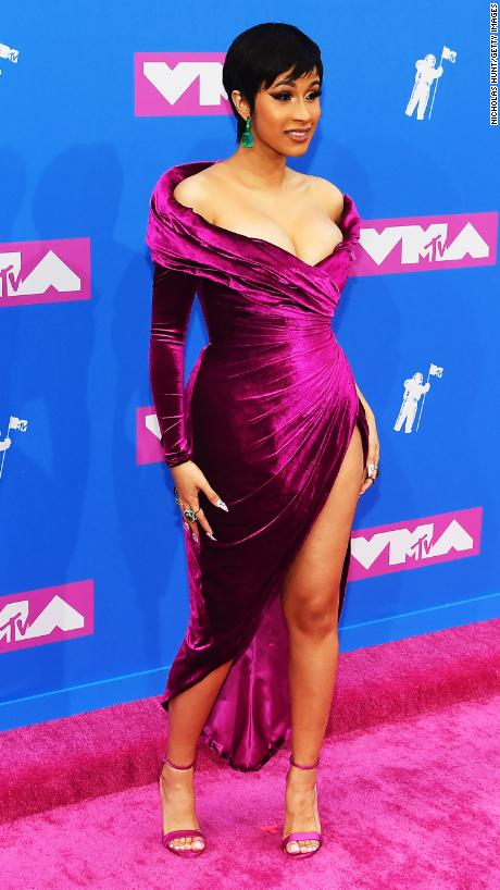 Cardi B, Nicolas Jebran, MTV VMA's, VMA, Video Music Awards, MTV awards, best dressed, red carpet, celebrity fashion, who wore it better, what they wore, Sarah In Style, fashion list, Sarah Meyer, Millie Bobby Brown, Jennifer Lopez silver dress, Karlie Kloss