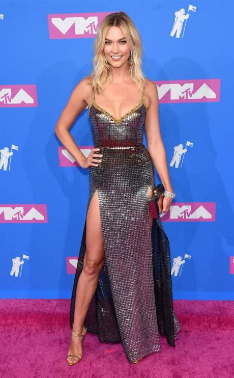Grace Vanderwaal, Cardi B, Nicolas Jebran, MTV VMA's, VMA, Video Music Awards, MTV awards, best dressed, red carpet, celebrity fashion, who wore it better, what they wore, Sarah In Style, fashion list, Sarah Meyer, Millie Bobby Brown, Jennifer Lopez silver dress, Karlie Kloss