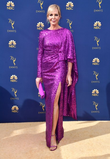 Allison Janney, Prabal Gurung, Emmy Awards, Emmy Awards 2018, Celeb Style, Celebrity Style, Celebrity Fashion, Red Carpet Fashion, Red Carpet, #redcarpet, best dressed, best dressed celebs. fashion awards, Sarah In Style, Sarah Meyer