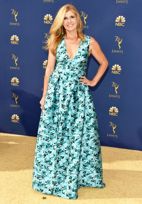Connie Britton, Sachin & Babi, Emmy Awards, Emmy Awards 2018, Celeb Style, Celebrity Style, Celebrity Fashion, Red Carpet Fashion, Red Carpet, #redcarpet, best dressed, best dressed celebs. fashion awards, Sarah In Style, Sarah Meyer