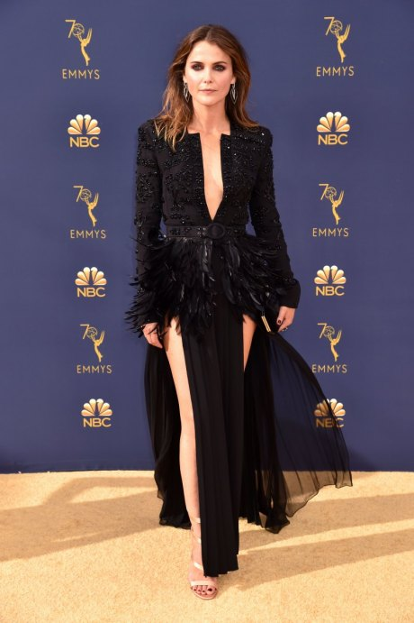 Kerri Russell, Zuhair Murad, Emmy Awards, Emmy Awards 2018, Celeb Style, Celebrity Style, Celebrity Fashion, Red Carpet Fashion, Red Carpet, #redcarpet, best dressed, best dressed celebs. fashion awards, Sarah In Style, Sarah Meyer