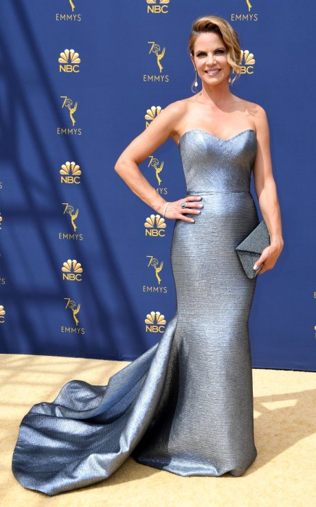 Natalie Morales, Romona Keveza, Emmy Awards, Emmy Awards 2018, Celeb Style, Celebrity Style, Celebrity Fashion, Red Carpet Fashion, Red Carpet, #redcarpet, best dressed, best dressed celebs. fashion awards, Sarah In Style, Sarah Meyer